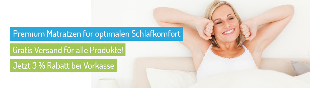 Premium Matratzen für optimalen Schlafkomfort