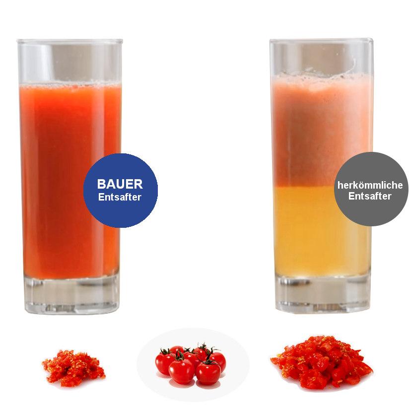 bauer slow juicer ha650 entsafter 150 w elektrisc ~ Entsafter Leise